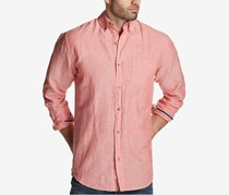 Weatherproof Vintage Men's Pocket Shirt, Pale Red