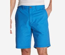 Weatherproof Vintage Men's Stretch Textured-Stripe Shorts, Bright Blue