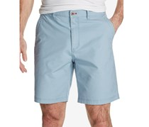 Weatherproof Vintage Men's Stretch Textured Stripe Short, Light Blue
