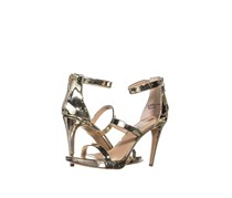 Women Sadiee Strappy Dress Sandals, Pale Gold