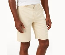 Tommy Bahama Men's Silk Havana Herringbone Shorts, Dark Ivory