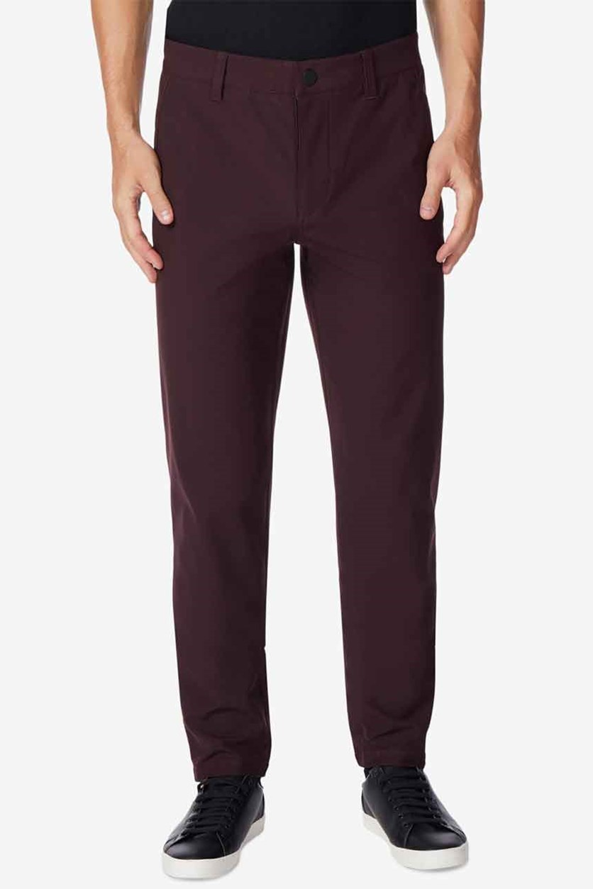 Men's Trouser Pants, Dark Berry