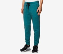32 Degrees Mens Performance Jogger Pants, Heather Tropical Forest