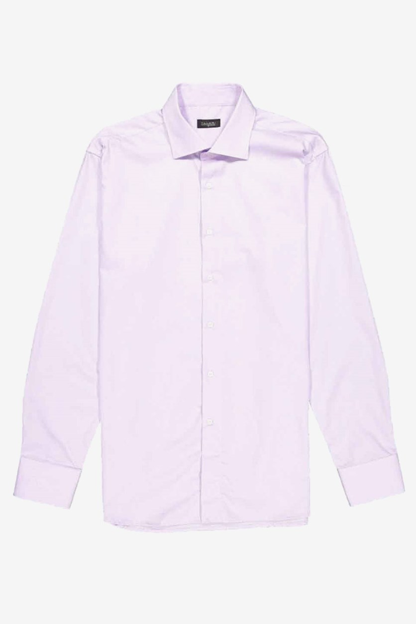 Men's Plain Dress Shirt, Purple