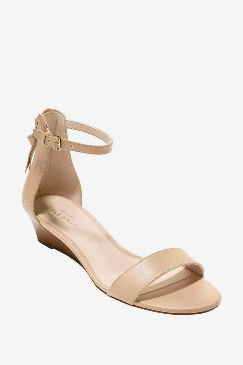 Womens Adderly Wedge Sandal, Nude