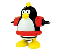 Water Fun Penguin Bath Toy, Black/Yellow/White/Red