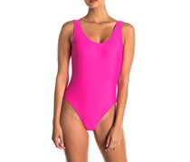 Onia Kelly One-Piece Swimsuit, Fushia