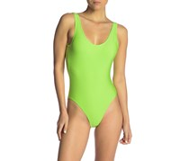 Onia Kelly One-Piece Swimsuit, Jasmine Green