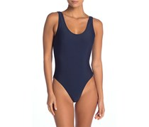 Onia Kelly One-Piece Swimsuit, Navy