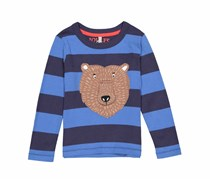 Joules Toddler Boys Long Sleeve Tee, Blue/Navy