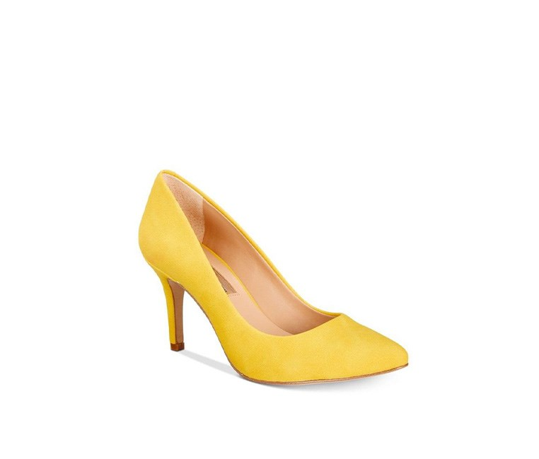 Women's Zitah Pointed Toe Pumps, Lemon