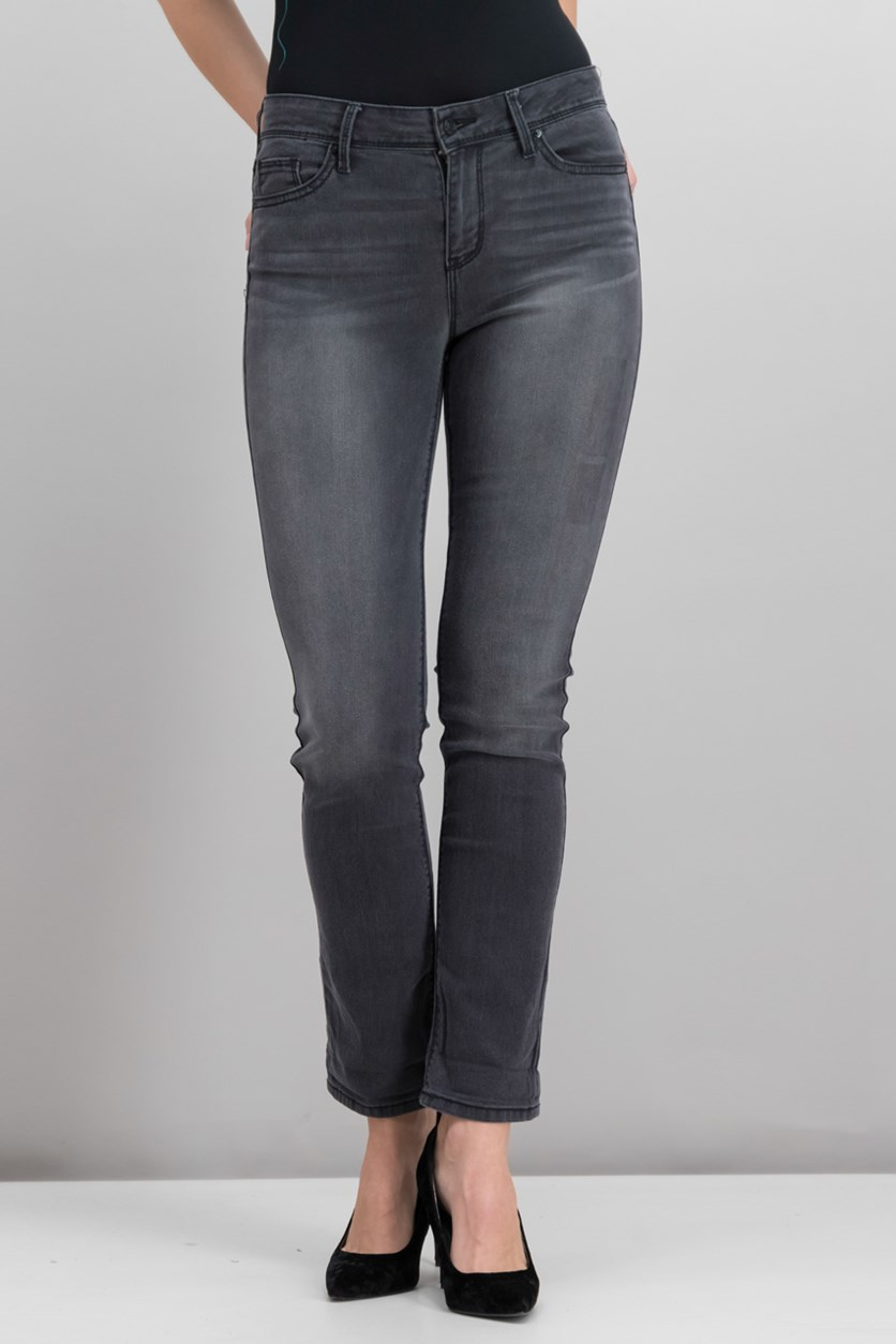 Juniors Kate High-Rise Jeans, Wash Black