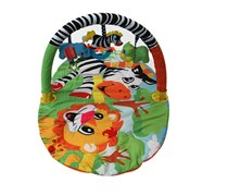 Infantino Explore And Store Activity Gym And Play Mat, Green/Yellow Combo