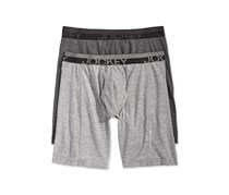 Jockey Mens Sport Outdoor 2 Pack Midway Briefs, Heather Grey/Charcoal Grey