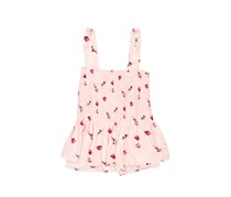 Mossimo Floral Sleeveless Top, Pink