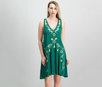 Free People Adelaide Festival Slip Dress, Green