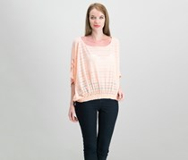 Free People Azelea Eyelet-Trim Top, Coral