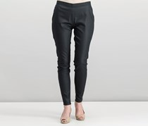 Women Plain Pants, Black