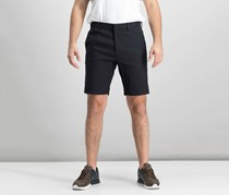 Theory Men's Hook And Bar Casual Short, Black