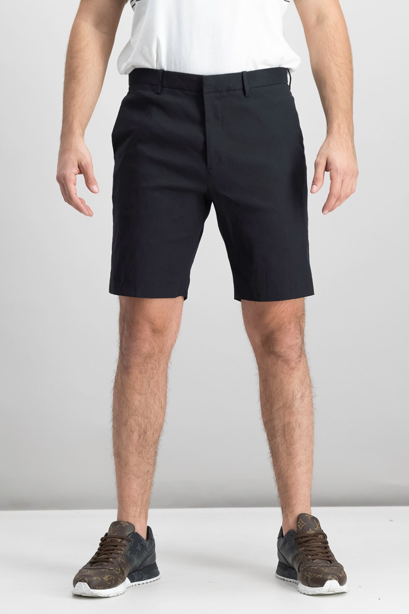 Men's Hook And Bar Casual Short, Black