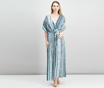 Bar III Striped Maxi Dress, Cobalt Glaze Combo