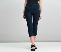 Style Co Petite Avery Cropped Jeans, Rinse