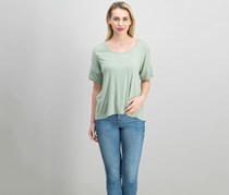 Chance or Fate Women's Ladder-Back Tee, Sea Grass