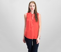 Guess Delrey Keyhole Top, Red Lava/Orange