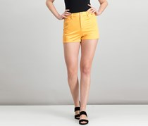 Guess Jamaica High-Rise Shorts, Tangy Orange