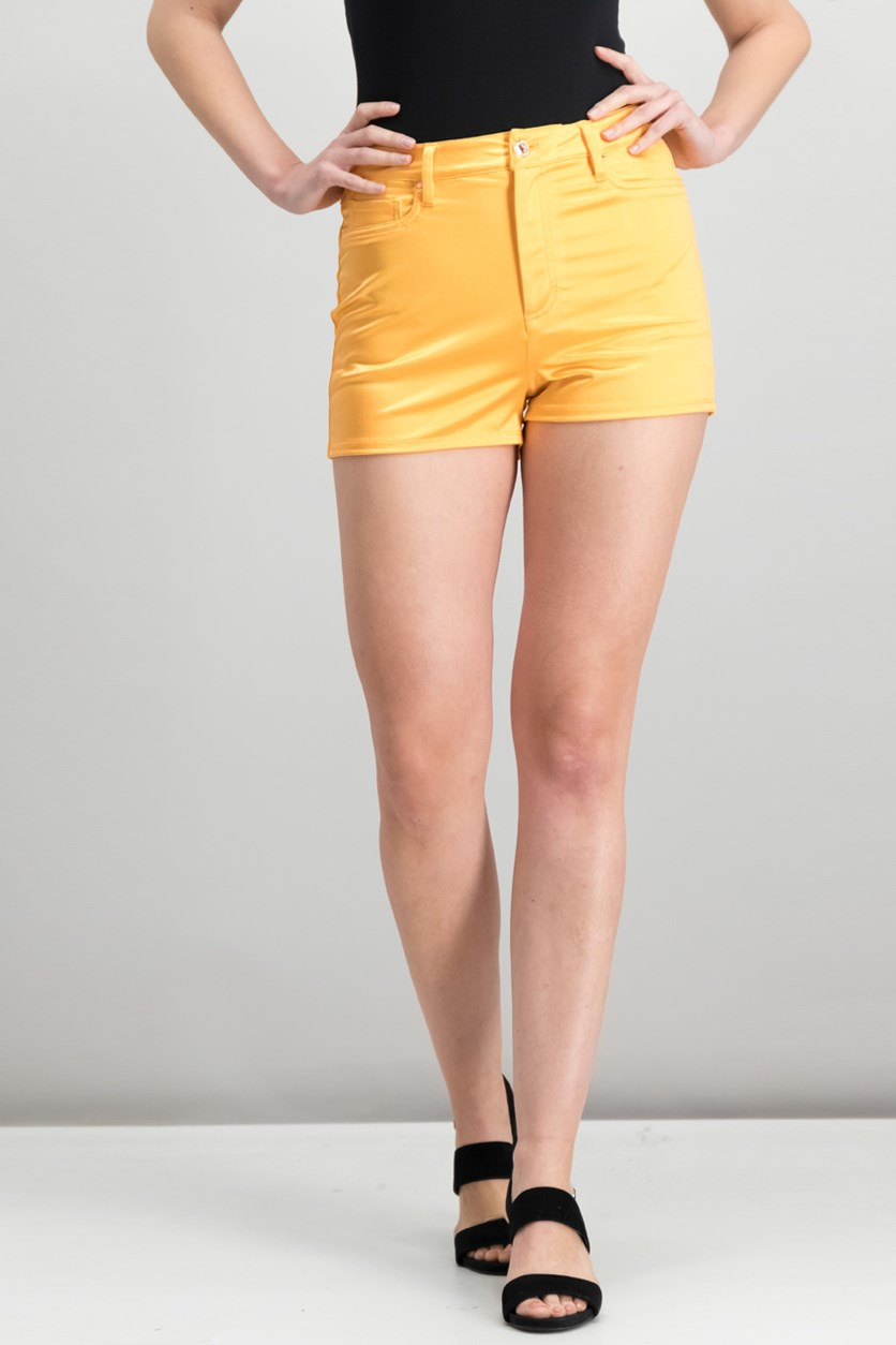 Jamaica High-Rise Shorts, Tangy Orange