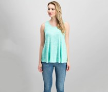 Merona Women's Sleeveless Heather Top, Tumble Green
