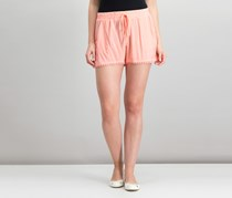 Be Bop Juniors Pom-Pom-Trim Shorts, Coral