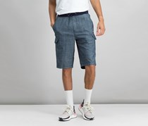 Sean John Men's Classic-Fit Drawstring Short, Blue