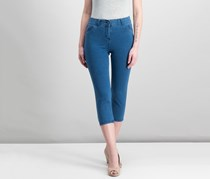 Style Co Tummy-Control Pull-On Pants, Ocean Wash