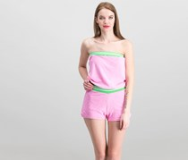 Women's Playsuit, Pink/Green