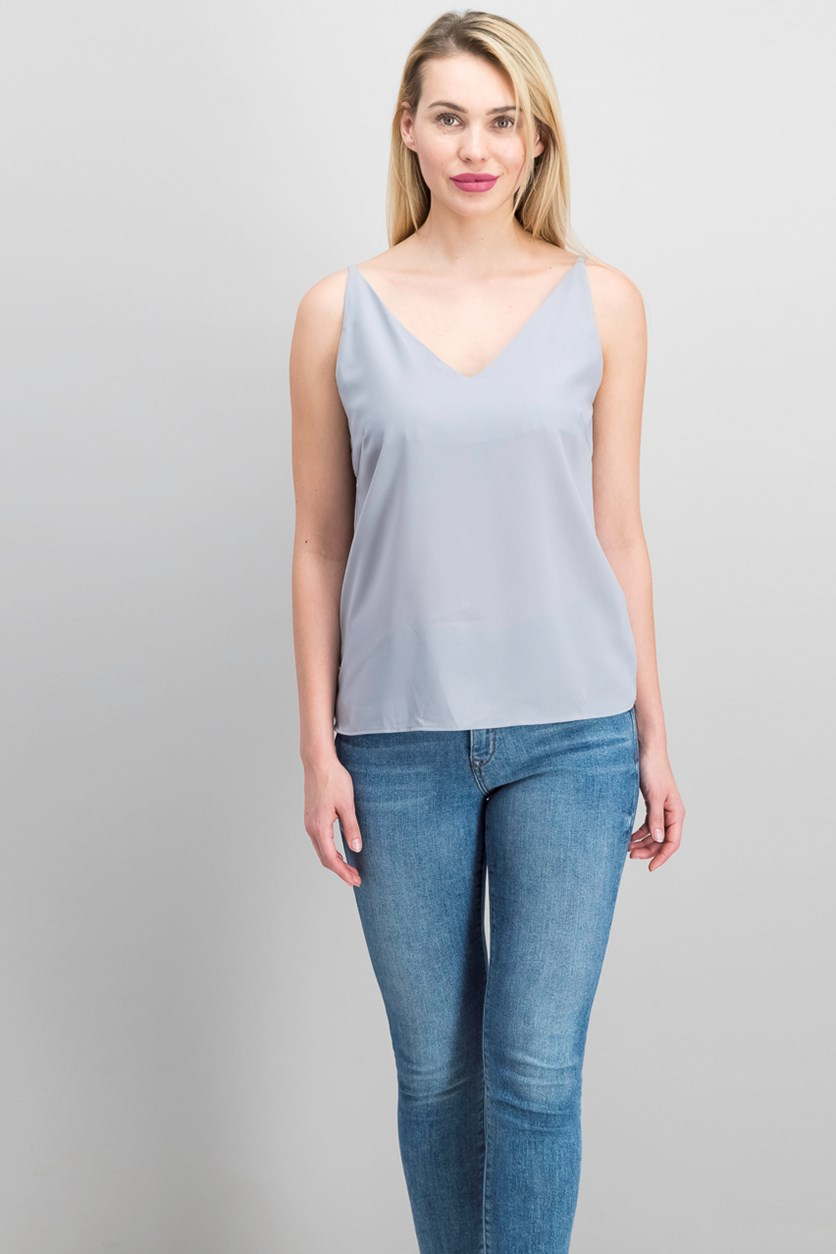 Women's Top, Grey