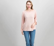 Sanctuary Cutout Top, Celestial Pink