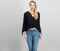 Elan Women's Blouse, Black