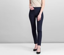 Elliott Lauren Women`s Slit Ankle Pants, Navy