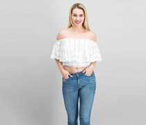 Greylin Women's Off Shoulder, Off White