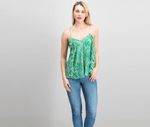 Greylin Women's Sleeveless Top, Green
