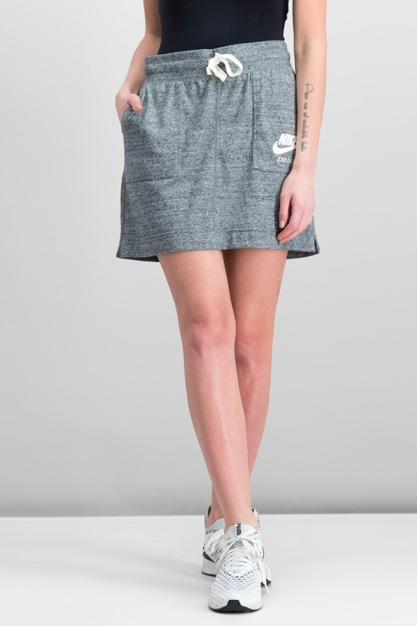 Gym Vintage Skirt, Carbon Heather