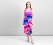 Rachel Roy Printed Draped Ruched Dress, Combo