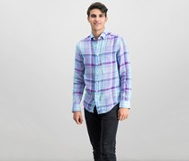 Vineyard Vines Murray Classic Fit Plaid Shirt, Jake Blue/Purple