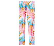 Epic Threads Donut-Print Leggings, Big Girl Multicolor