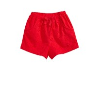 First Impressions Baby Girl Cotton Eyelet Shorts, Lollipop
