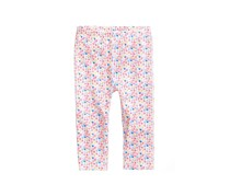 First Impressions Floral-Print Leggings, Pink