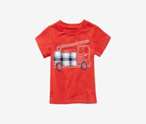 First Impressions Toddlers Graphic-Print Shirt, Raging Red