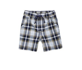 First Impressions Baby Boys Woven Cotton Shorts, White Combo