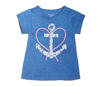 First Impressions Baby Girl's Top, Navy Blue
